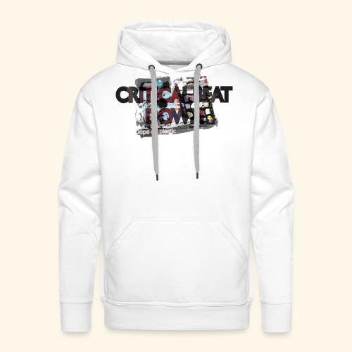 Critical - Sweat-shirt à capuche Premium pour hommes