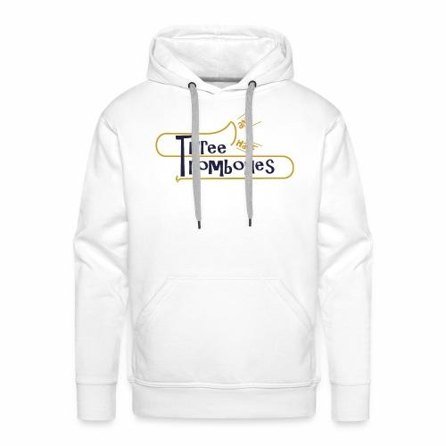 312 Trombones Logo Striche - Männer Premium Hoodie