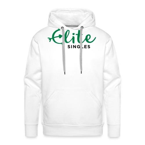 EliteSingles Logo EN Dark - Männer Premium Hoodie