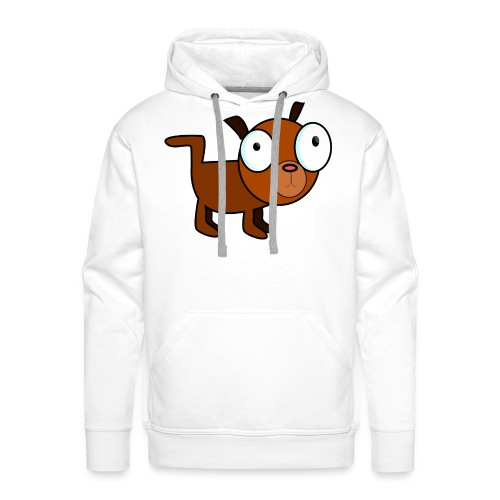 dog dawg animal 1979px png - Mannen Premium hoodie