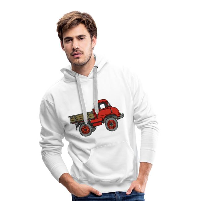 Roter Lastwagen, LKW, Laster