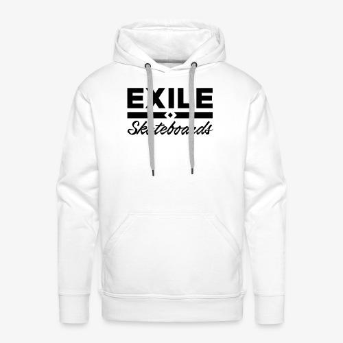 Exile Skateboards Official Merch - Men's Premium Hoodie