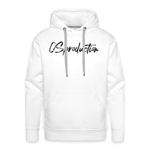os production - Sweat-shirt à capuche Premium pour hommes