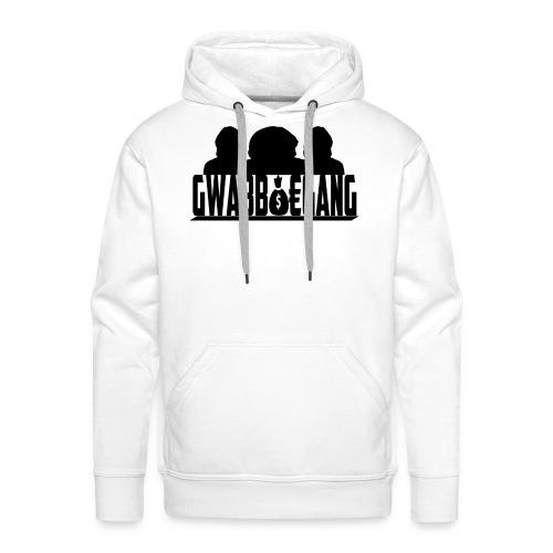 gwabboegang1 png - Mannen Premium hoodie