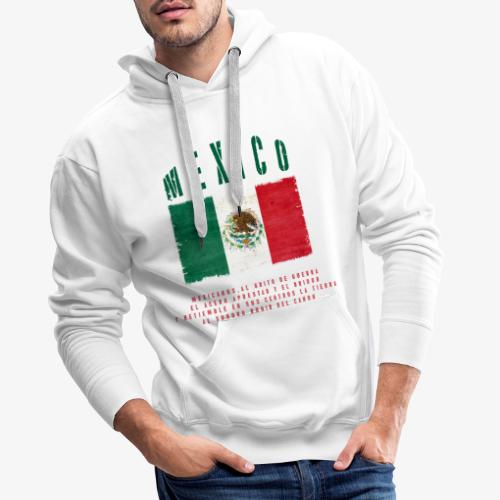 Mexican Flag Bandera Mexico - Männer Premium Hoodie
