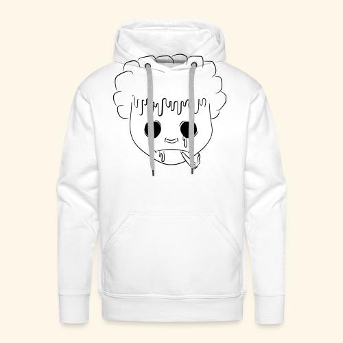 visage 31 - Sweat-shirt à capuche Premium pour hommes