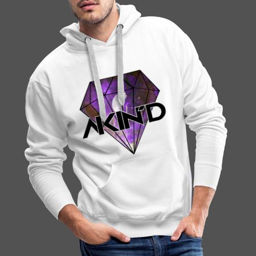 DiamondKing - Sweat-shirt à capuche Premium pour hommes