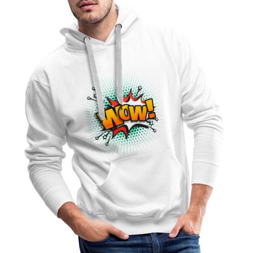 wow - Sweat-shirt à capuche Premium pour hommes