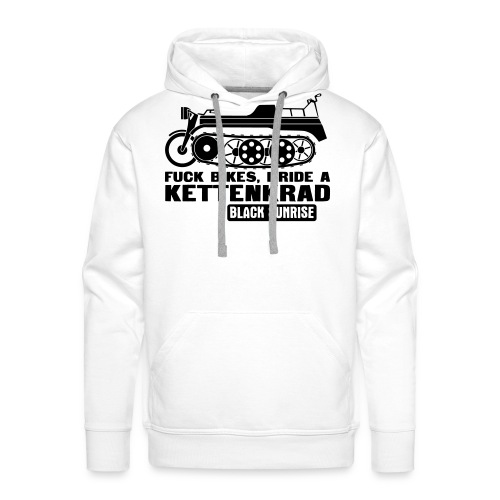 kettenkrad - Felpa con cappuccio premium da uomo