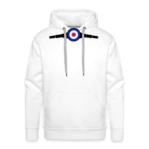 Lenkkopf Target - Männer Premium Hoodie