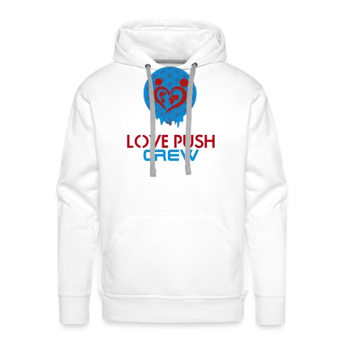 Love Push Crew - Männer Premium Hoodie