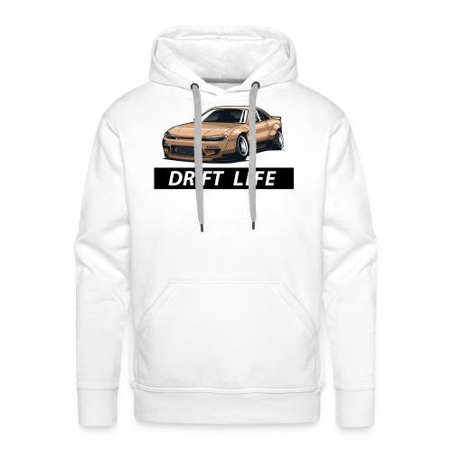 Vida Drift Tuneo Derrape Silvia s14 drift jdm - Sudadera con capucha premium para hombre