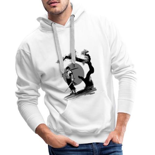 samurai - Sweat-shirt à capuche Premium pour hommes