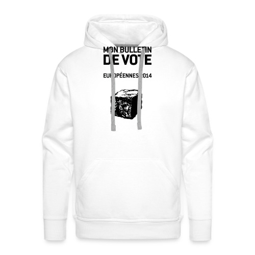 bulletin_europeene - Sweat-shirt à capuche Premium pour hommes