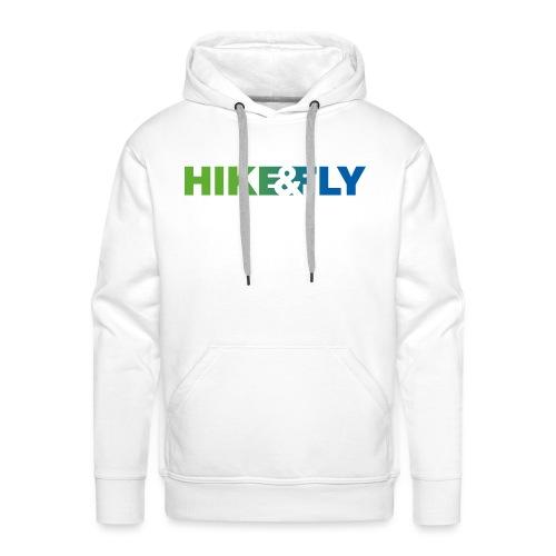 Hike & Fly Paragliding - Männer Premium Hoodie