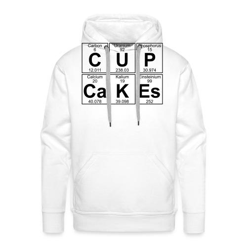 C-U-P-Ca-K-Es (cupcakes) - Full - Men's Premium Hoodie