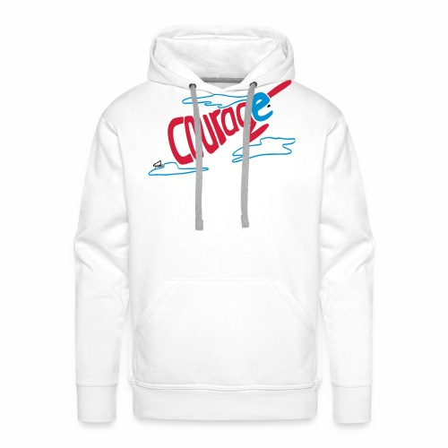 Courage superhero eco / fairtrade - Men's Premium Hoodie