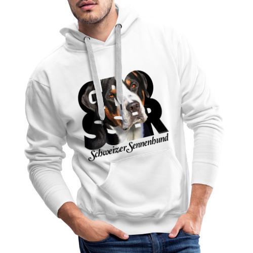 Grosser Schweizer Sennenhund Dark - Miesten premium-huppari