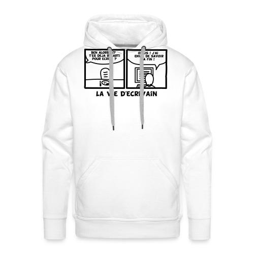 BD_ECRIVAIN - Sweat-shirt à capuche Premium pour hommes