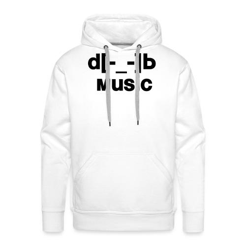 music - Sweat-shirt à capuche Premium pour hommes