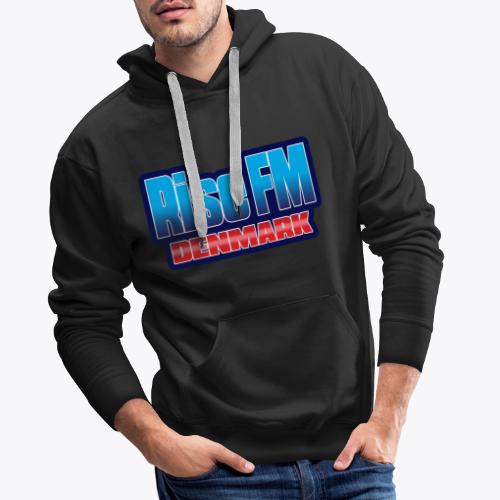Rise FM Denmark Text Only Logo - Men's Premium Hoodie