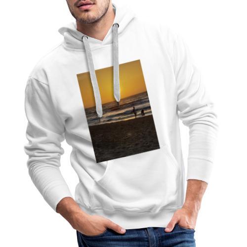 Strive for power - beach - Mannen Premium hoodie