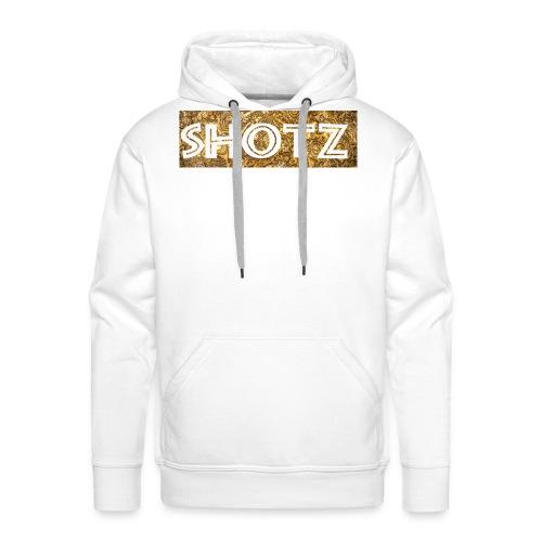 shotz png - Männer Premium Hoodie
