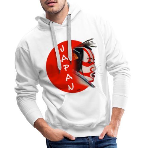Japon - Sudadera con capucha premium para hombre