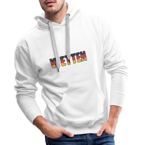 Wetten - Männer Premium Hoodie
