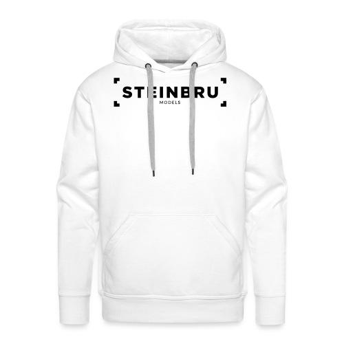 Steinbru Models - Sort - Premium hettegenser for menn