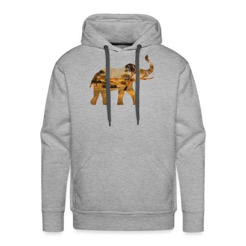 ELEPHANT - Mannen Premium hoodie