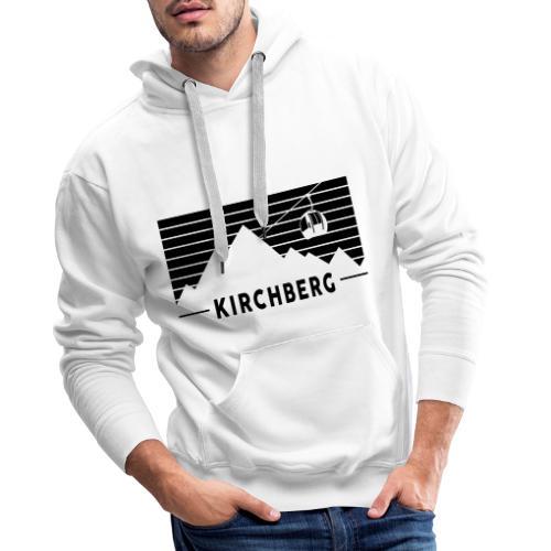 Mountains & Stripes Kirchberg - Mannen Premium hoodie
