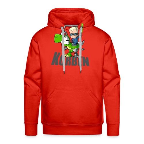 korben 1 DD - Sweat-shirt à capuche Premium pour hommes