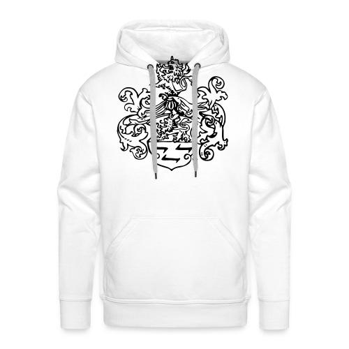 Wappen monochrom - Männer Premium Hoodie