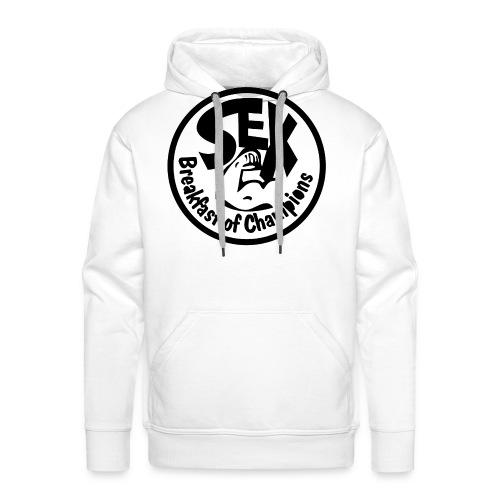 Breakfast of Champions - Mannen Premium hoodie