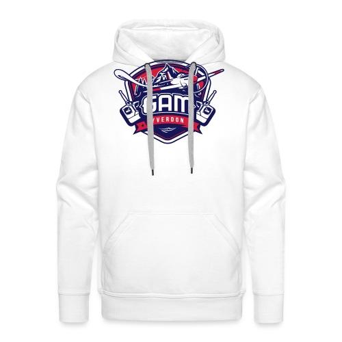 gam yverdon logo cmjnpage001 - Sweat-shirt à capuche Premium pour hommes