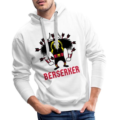 Berserker | Guerrero Nórdico | Vikingos - Sudadera con capucha premium para hombre