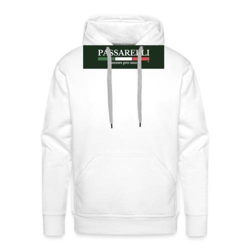 PASSARELLI - Felpa con cappuccio premium da uomo