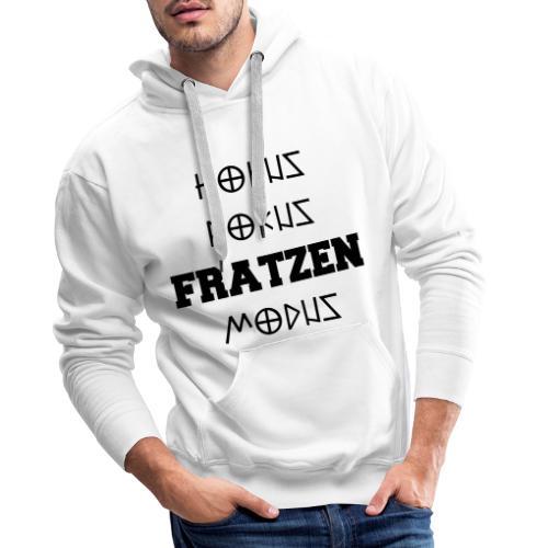 Hokus Pokus Fratzen Modus Afterhour Rave Spruch - Männer Premium Hoodie