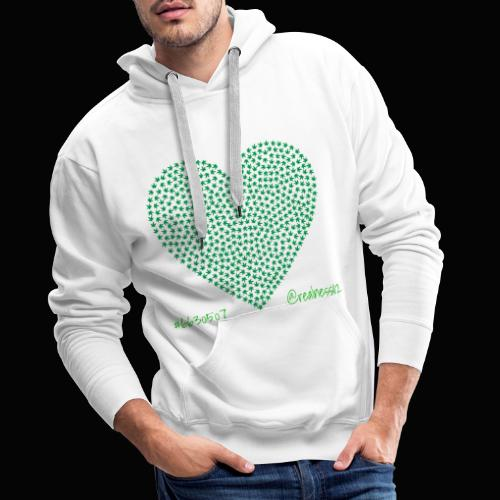 Love Cannabis!! Truth T-Shirts!! #WokeAF #Love - Men's Premium Hoodie