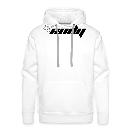 Andy t-shirt - Premium hettegenser for menn