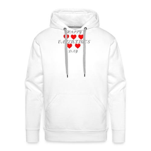 happy valentine s day 3 - Männer Premium Hoodie
