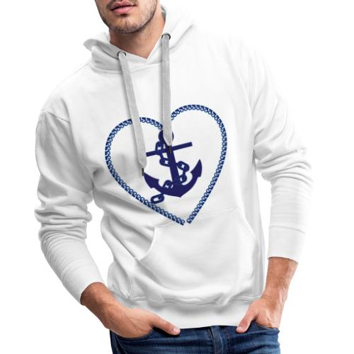 anchor - Anker - Männer Premium Hoodie