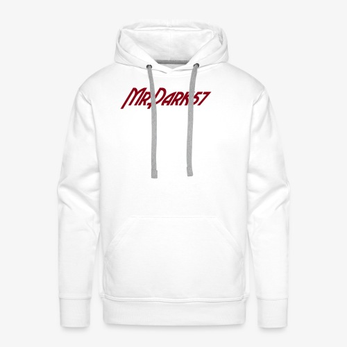 MrDark57 - Sweat-shirt à capuche Premium pour hommes