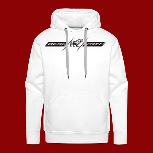 Racing-France - Sweat-shirt à capuche Premium pour hommes