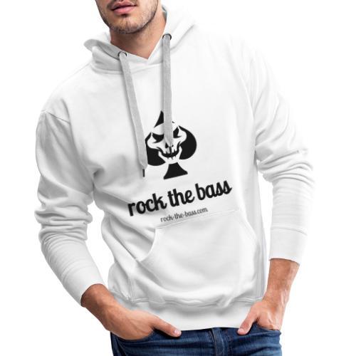 Rock The Bass - Männer Premium Hoodie