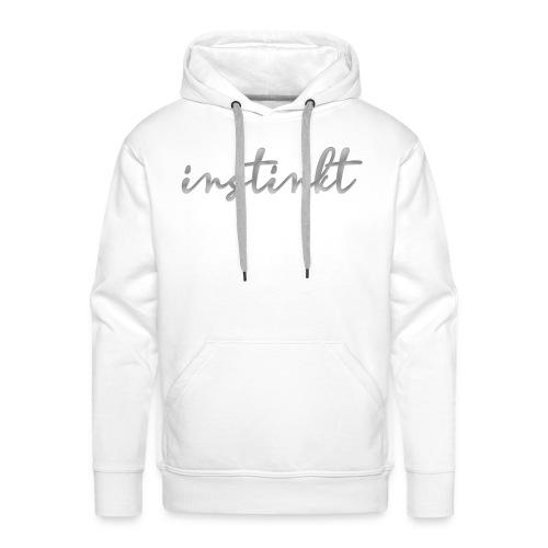 INSTINKT by Hindriks - SILBER - Männer Premium Hoodie