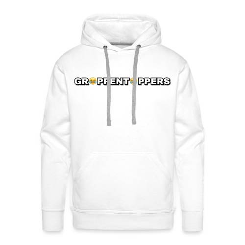 Merchandise met Grappentappers tekst - Mannen Premium hoodie