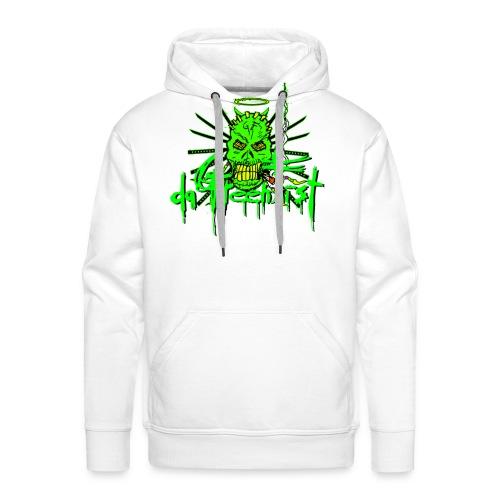 GFSkullOnlyColorShirt2 - Men's Premium Hoodie
