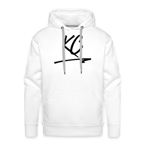 KC - Black - Sweat-shirt à capuche Premium pour hommes